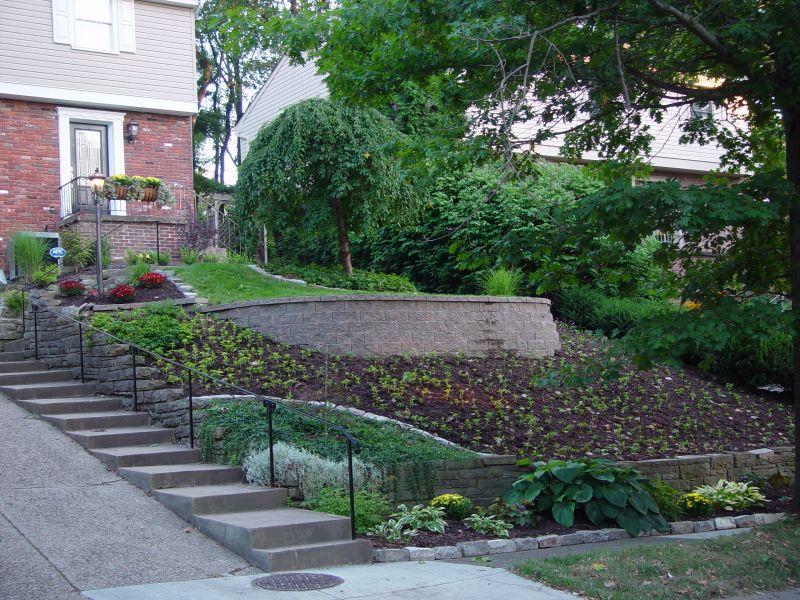 zahrady ve svahu galerie foto