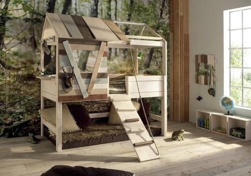 postel priroda
