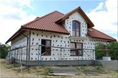 odizolovaný dům