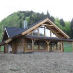 Proč si postavit dům ze dřeva