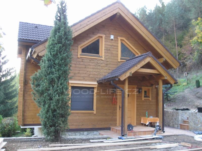 srubové domy