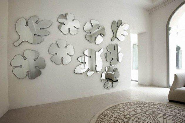 dekorace zrcadlo