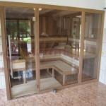 Sauna s nadstandardní výbavou pro nejnáročnější