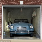 Nejúžasnější garážová vrata, jaká jste kdy viděli