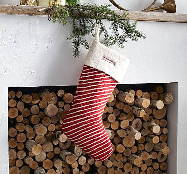 vánoční punčochy