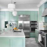 Atraktivní pastelové kuchyně