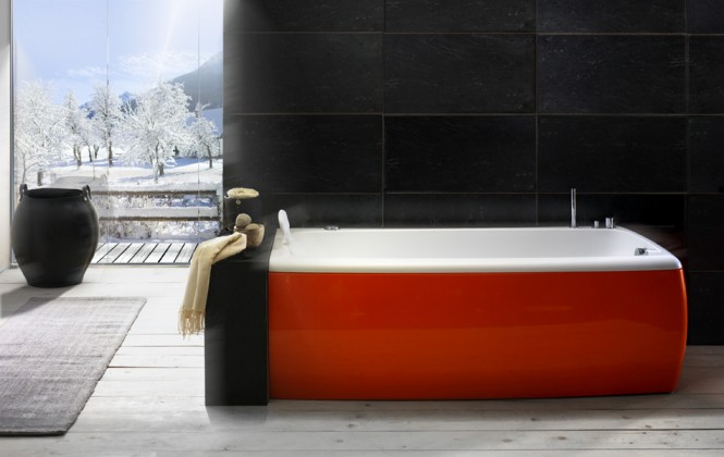 red-and-white-bathtub-665x420